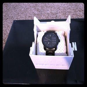 Men's Black Diesel watch